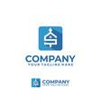 house sale logo vector image