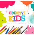 kids art craft education creativity class concept