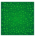 Natural pattern with green leaves vector image