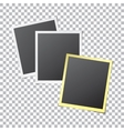 Paper Photo Frames vector image