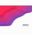 the abstract background overlap purple waves vector image vector image