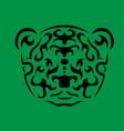 tribal bear vector image vector image