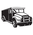 armored car vector image vector image