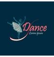 Dancing Logo Symbol vector image vector image