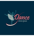 Dancing Logo Symbol vector image