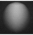 Dark Iron Perforated Background vector image vector image