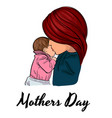 mothers day poster vector image vector image