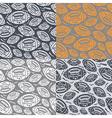 seamless pattern rugball vector image