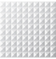 Geometrical white seamless pattern vector image