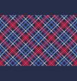 blue pixel texture plaid seamless pattern vector image