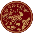 Chinese Traditional Floral Pattern vector image vector image