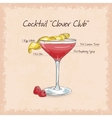 Clover Club vector image