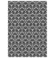 Floral block print vector image vector image