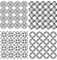 funky geometrical seamless vector image vector image
