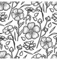 graphic linen pattern vector image vector image