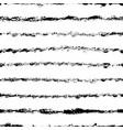 horizontal brush lines seamless pattern vector image vector image