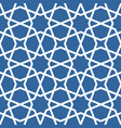 seamless ethnic grating ornament - arabian pattern vector image vector image
