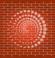 abstract technology circles sign whitish vector image