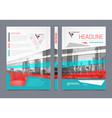 Annual Report Brochure Flyer Design vector image vector image