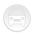 Car button vector image vector image