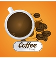 Coffee design drink concept Flat vector image