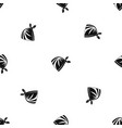 cowboy neckerchief pattern seamless black vector image vector image