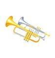 icon trumpet vector image
