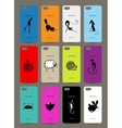 mobile phone cover back 12 funny animals for your