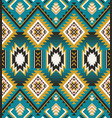 native american indian aztec geometric seamless vector image vector image