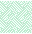 Op art seamless geometric striped pattern vector image