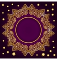 Royal Luxury Ornamental Golden Frame vector image vector image
