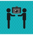 video icon design vector image