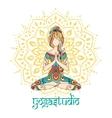 Yoga-10Color vector image vector image