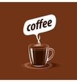 logo for coffee vector image