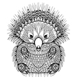 Hand drawn Echidna Australian animal for vector image