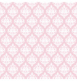 Damask seamless pattern in pastel pink vector image vector image