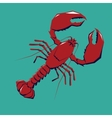 Lobster logo template vector image vector image