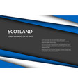 modern background with scottish colors and grey vector image vector image