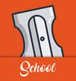 school elements design vector image vector image