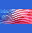 usa independence day abstract background vector image vector image