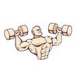 Gym Man vector image