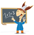 student at school vector image