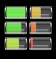 131 Transparent Battery Icon vector image vector image