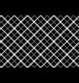 flower of scotland tartan black pixel fabric vector image vector image
