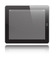 Tablet horizontal vector image
