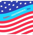 4th july happy independence day united states vector image vector image
