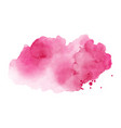 abstract bright pink stain splashing vector image vector image