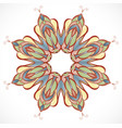 abstract colorful element of ornament vector image vector image