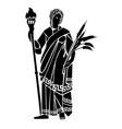 goddess demeter vector image