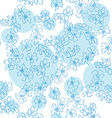 Blue flowers flowers vector image